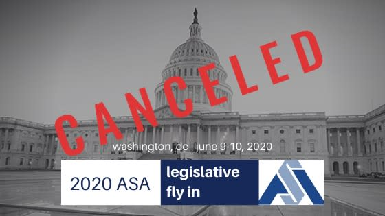 ASA June Fly-in Canceled