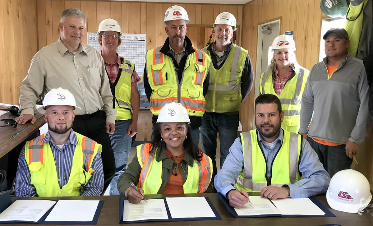 MIOSHA/ASAM Safety Alliance Agreement Signing